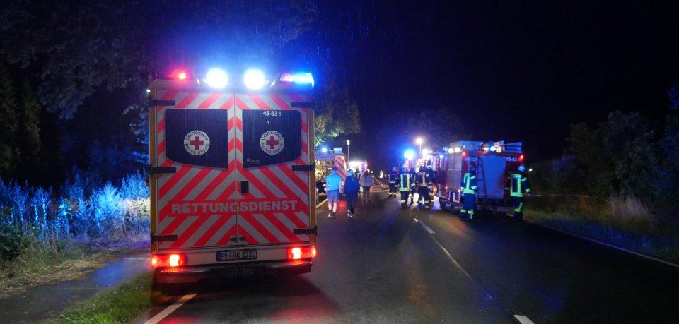 Mit gleich mehreren Kräften rückte die Feuerwehr im Kreis Peine aus.