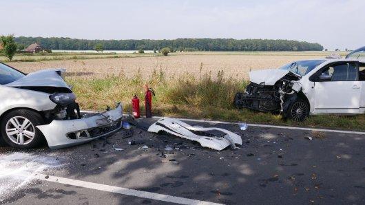 Auf der K58 im Kreis Wolfenbüttel ist es am Montagmittag zu einem schweren Unfall gekommen.