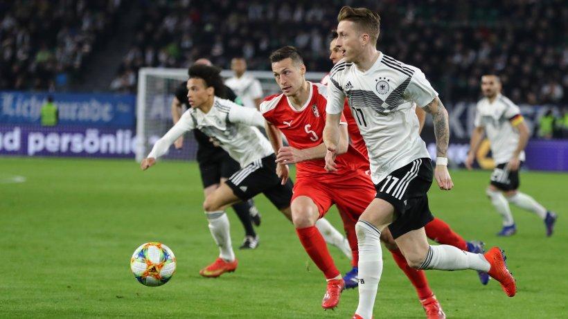 Länderspiel Deutschland Serbien