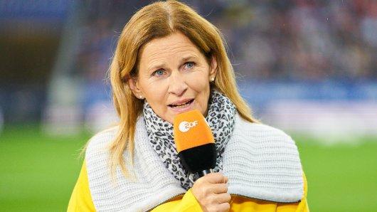 Sportstudio (ZDF): Moderatorin Katrin Müller-Hohenstein hat ihren Wunsch-Interviewpartner verraten.