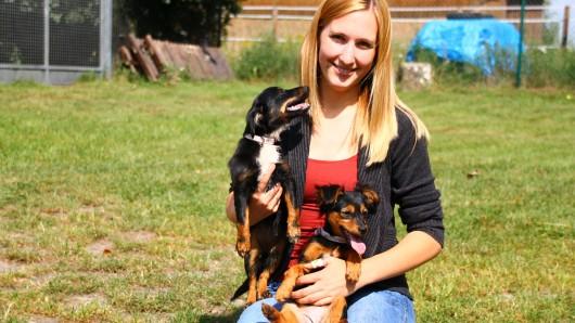 Luna und Emma toben sich derzeit noch mit den Tierpflegern in Ribbesbüttel aus.