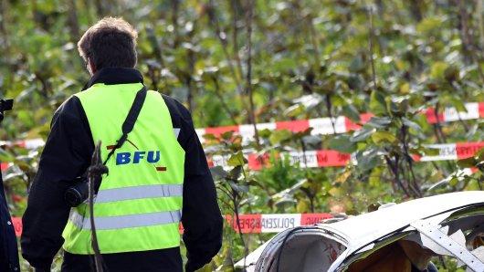 Auch die BFU war an der Unfallstelle in Werneuchen (Symbolbild).
