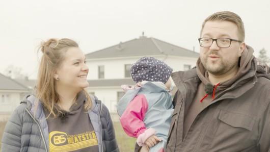 Janina und Robert aus dem Kreis Gifhorn haben sich beim Hausbau mit der Kamera begleiten lassen.