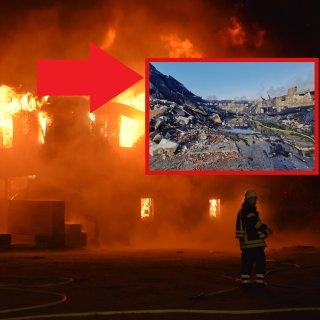 Im Kreis Gifhorn stand ein Dorfgemeinschaftshaus in Flammen – nur noch Ruinen sind übrig geblieben.