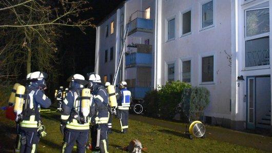 In Gifhorn wurden Anwohner mitten in der Nacht von einem Feuer überrascht.