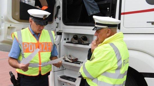 Ein Lkw-Fahrer ist betrunken durch Gifhorn gebrettert. Sein Promillewert macht fassungslos! (Symbolbild)