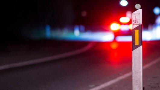 """Ein Autofahrer ist bei Gifhorn mit einem """"Hindernis"""" zusammengestoßen. Die Polizei hat DAS am Unfallort gefunden. (Symbolbild)"""