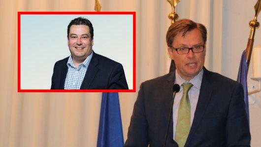 Kreis Gifhorn: Alles deutet auf eine Stichwahl zwischen Andreas Ebel (rechts, CDU) und Tobias Heilmann (SPD) hin.