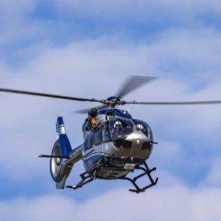 Falls du in den kommenden Tagen mehrere Hubschrauber der Polizei über dem Landkreis entdeckt, hat das einen wichtigen Grund. (Symbilbild)