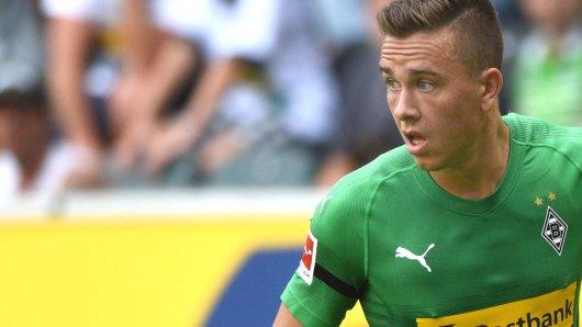 Mike Feigenspan im Einsatz für Borussia Mönchengladbach (Archivbild).