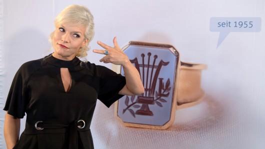 Da ist der Ring! Ina Müller war am Donnerstag zu Gast in Goslar.
