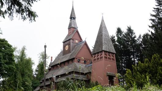 Die Stabkirche in Hahnenklee wird 110 Jahre alt.