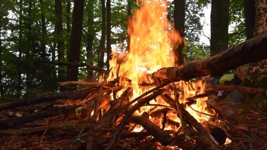 Als Brandort wurde die Schutzhütte Goldberg lokalisiert (Symbolbild).