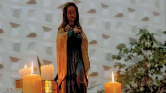 Diese Statue wird in St. Andreasberg vermisst.