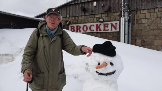 Brocken-Benno und sein neuer Kumpel.