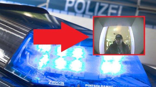 Die Polizei sucht mit diesem Foto nach einem Mann, der im dringenden Tatverdacht stehe, ein EC-Karten-Betrüger zu sein. (Collage)