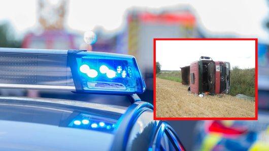 Schrecklicher Unfall im Landkreis Harz! Ein Lkw-Fahrer ist dabei ums Leben gekommen.