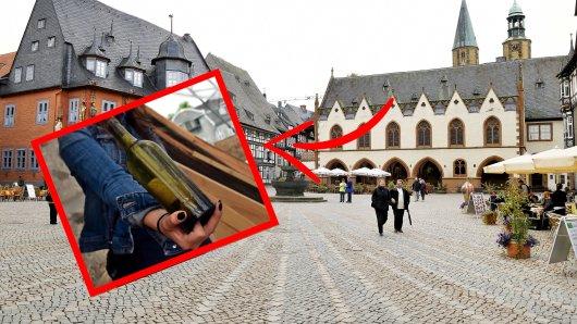 In Goslar entdeckten Arbeiter eine Flaschenpost mit interessanter Botschaft.