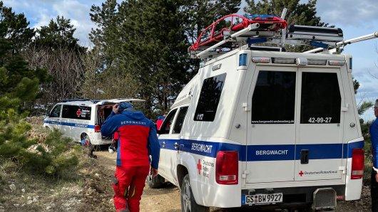 Harz: Eine Wanderin war in einem Steinbruch einen Hang heruntergestürzt.
