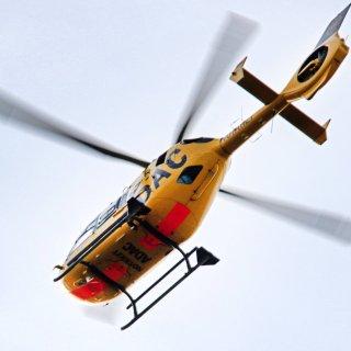 Schlimmer Unfall in Königslutter! Ein Rettungshubschrauber musste ein Kind (7) ins Krankenhaus fliegen. (Symbolbild)