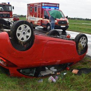 Harz: Bei dem Unfall hat sich die Frau schwer verletzt.