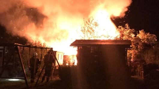 Immer wieder hatte es in den vergangenen Monaten in dem Kleingartenberein in Königslutter gebrannt. (Archivbild)
