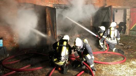 Auch 20 Mitglieder der Feuerwehr Grasleben waren im Nachbarort Weferlingen (Landkreis Börde/Sachsen-Anhalt) im Einsatz.