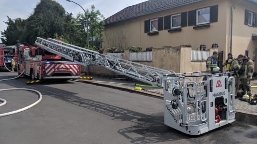Die Feuerwehr Helmstedt war am Sonntag in der Dr.-Heinrich-Jasper-Straße im Einsatz.