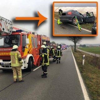 Im Landkreis Helmstedt hat sich auf einer vielbefahrenen Bundesstraße ein schwerer Unfall ereignet.