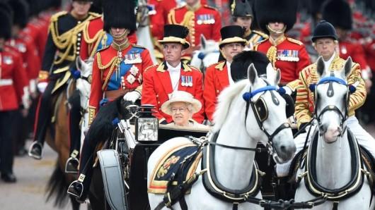 Drei Tage lang wird der Geburtstag der Queen gefeiert.