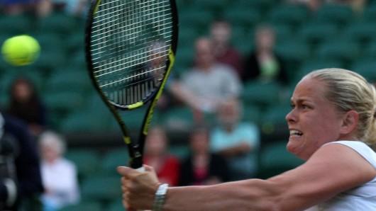 Julia Görges aus dem niedersächsischen Nordhorn hat sich ins Mixed-Finale in Wimbledon gekämpft.