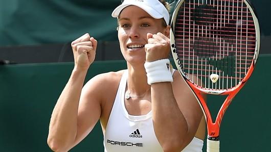 Angelique Kerber steht im Einzel-Finale der Damen - und muss gegen die Weltranglisten-Erste Serena Williams ran.