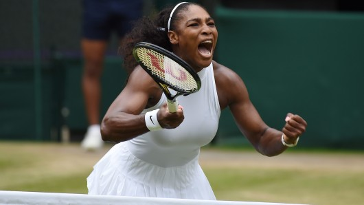 Serena Williams hat allen grund zum Jubeln.