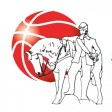 Die Logos der MTV Herzöge Wolfenbüttel und des Kooperationspartners Basketball Löwen Braunschweig