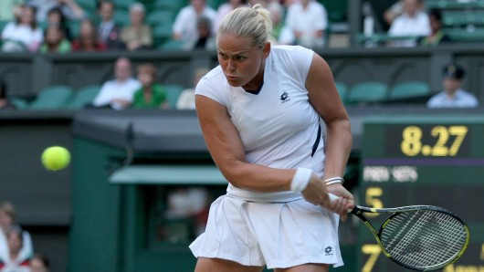 Nichts zu machen: Anna-Lena Grönefeld aus dem niedersächsischen Nordhorn verpasste ihren dritten Mixed-Titel in Wimbledon.