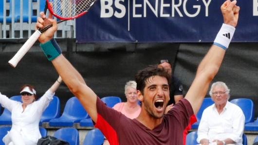 Thomaz Bellucci ist Sieger des Sparkassen Open 2016 und als Titelverteidiger wieder am Start.
