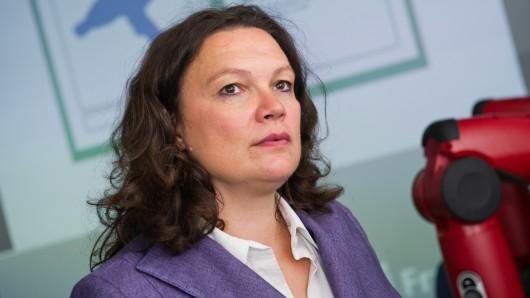 Andrea Nahles: Bis 2020 will sie die Ost-Renten an das West-Niveau angleichen.