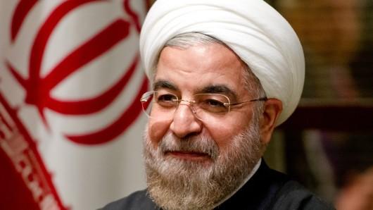 Der Präsident des Iran, Hassan Ruhani