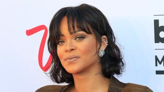 Sängerin Rihanna (28)