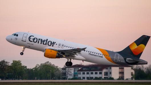 Ein Airbus von Condor ist am 17. Juli 2016 mit einem Laserpointer geblendet worden.