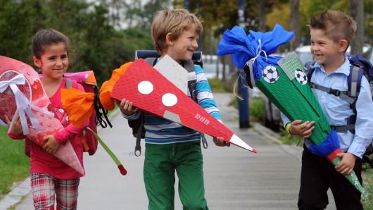 Am Samstag wird in Niedersachsen Einschulung gefeiert. (Symbolbild)