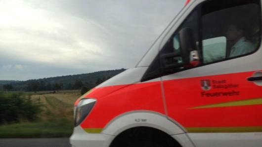Ein Unfall auf der L615 endete am Vormittag tödlich (Archivbild).