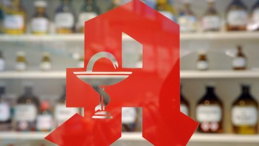 Ein Logo einer Apotheke (Symbolbild)