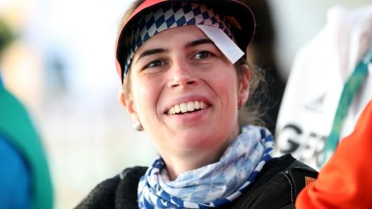 Barbara Engleder hat Gold im Dreistellungskampf geholt.