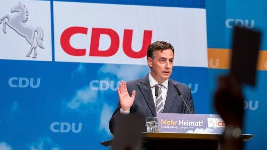 CDU-Landeschef David McAllister und die Parteitags-Delegierten stimmen über das neue Grundsatzprogramm ab. Zentrales Thema: innere Sicherheit.