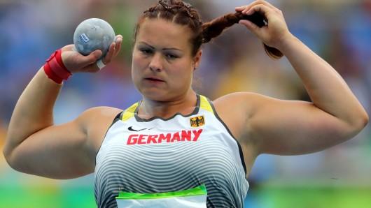 Sie galt als eine sichere Medaillenkandidatin - blieb aber wie viele andere deutsche Athleten ohne Edelmetall: Kugelstoßerin Christina Schwanitz.