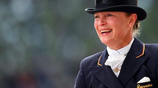 Sillber in der Dressur: Isabell Werth bessert die deutsche Medaillenbilanz auf.
