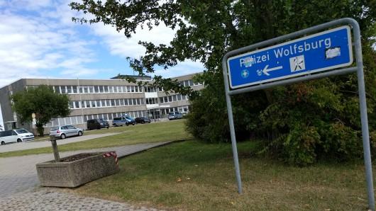 Blick auf die Polizei-Inspektion Wolfsburg.