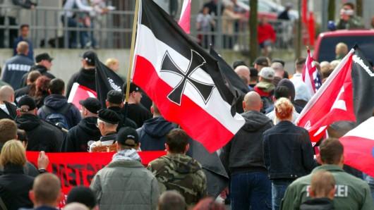 In Goslar werden am 2. Juni mindestens 300 Neonazis aus allen Teilen der Bundesrepublik erwartet (Archivbild).