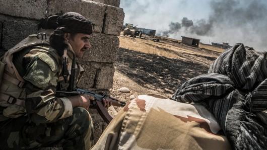 Das irakische Militär will die Stadt Mossul zurückerobern.